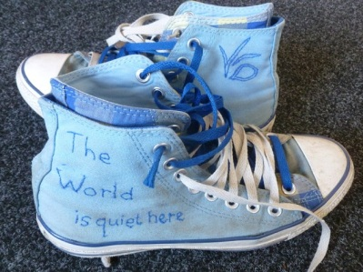 VFD shoes finished