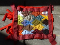 This one is only partially quilted yet.