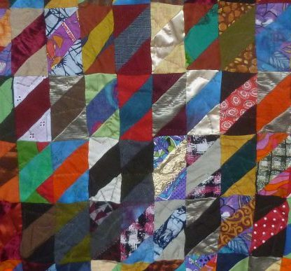 Front of the scrap quilt