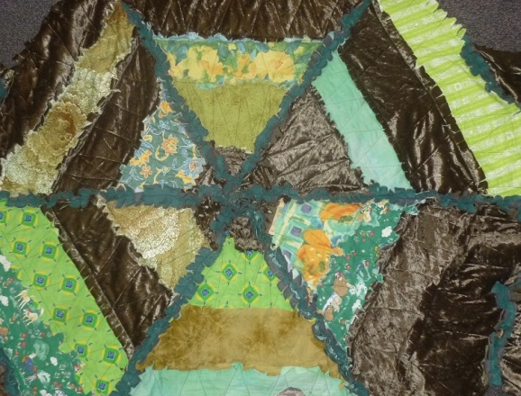 Middle of the rag quilt