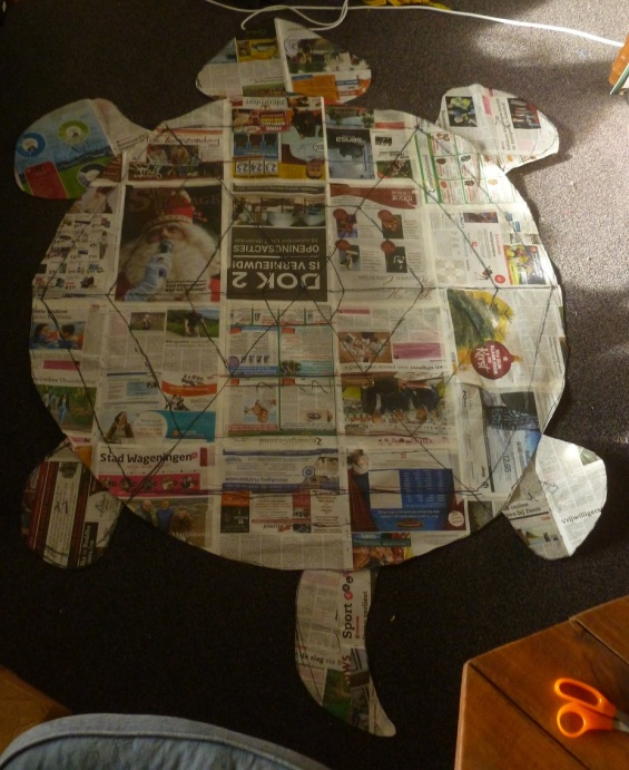 Pattern of the rag turtle quilt