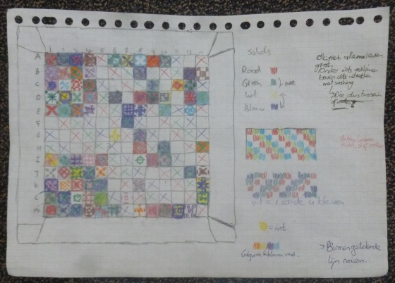 Schema 28-07-2018 Dear Jane quilt finishes