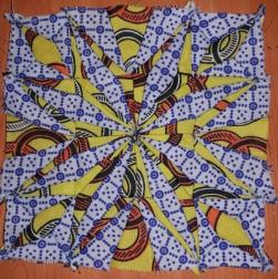 Kenyan quilt block 1