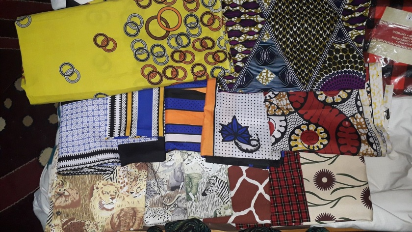 Kenyan fabric collection