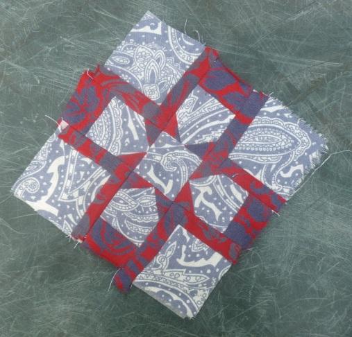 Nearly insane quilt block 48