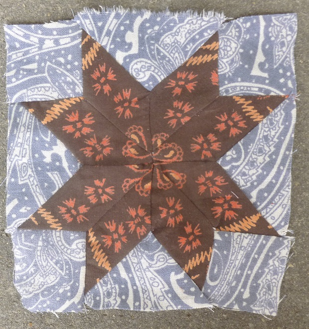 Nearly insane quilt block 27