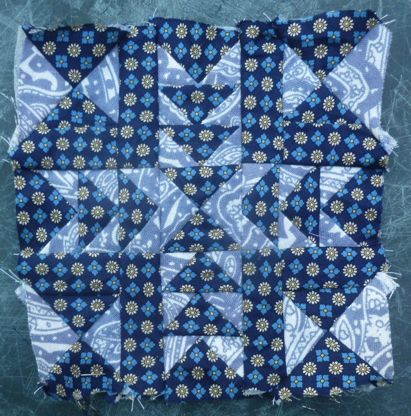 Nearly Insane quilt block 35