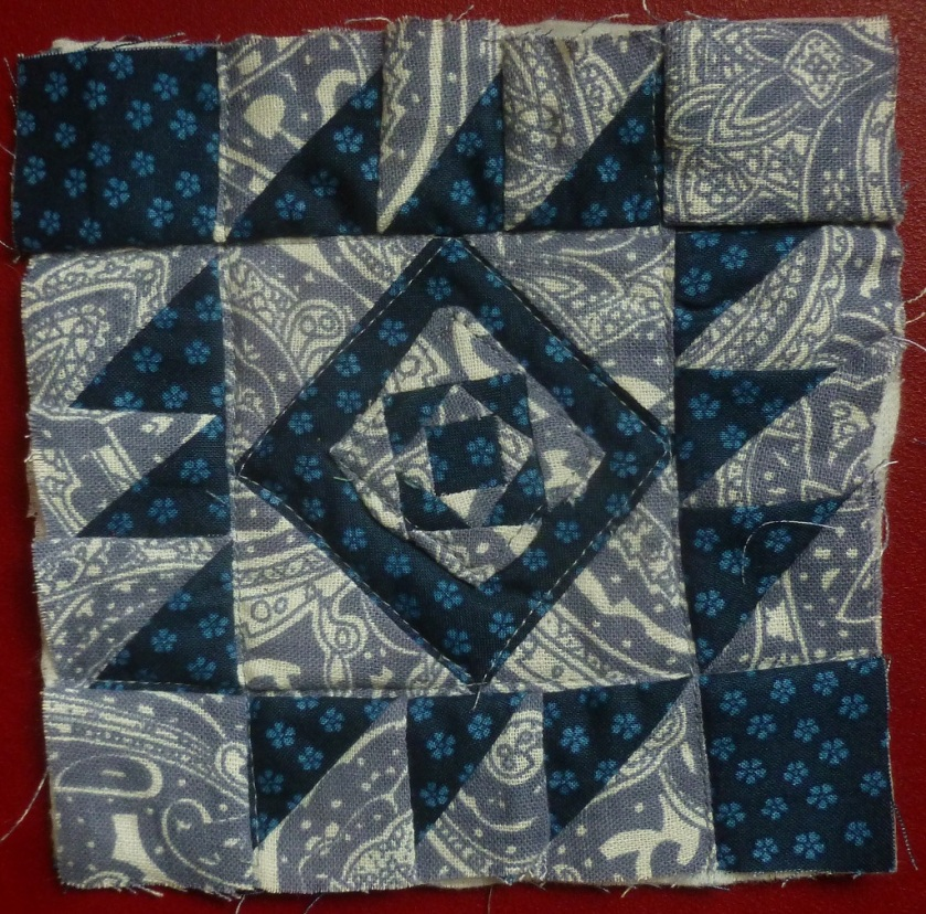 Nearly Insane quilt block 85