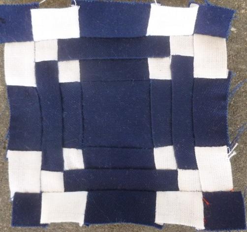 Dear Jane quilt E-8: Mama's maze