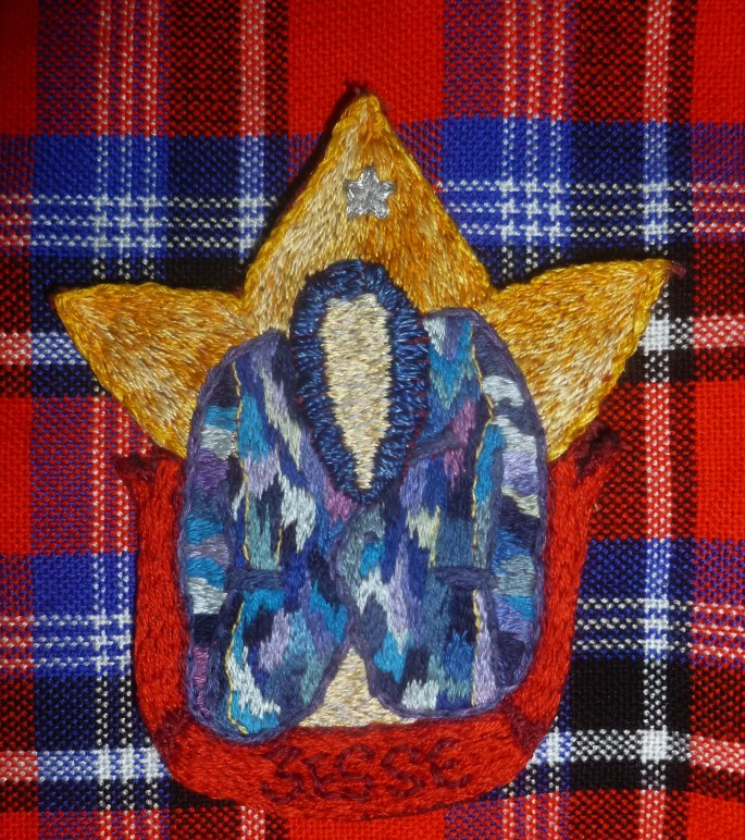 Coat of Many Colours Embroidery Patch